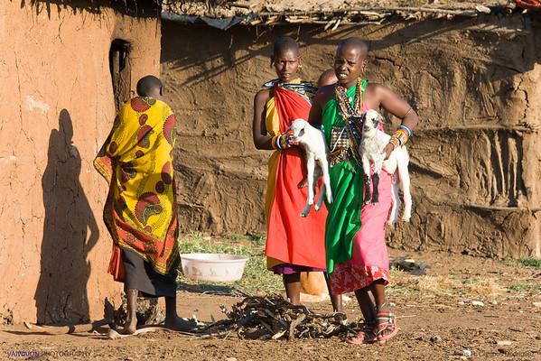 A Maasai village (1/8)