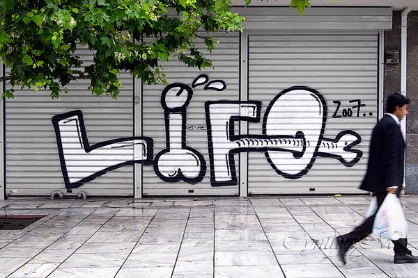 Grafitti in downtown Athens