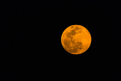 "Super ""Pink"" Moon April 2020"