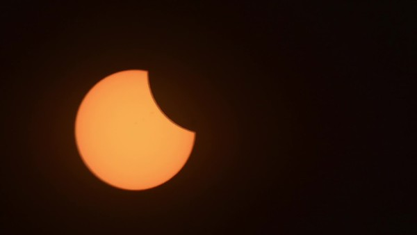 Solar Eclipse Time Lapse In the Air Tonight