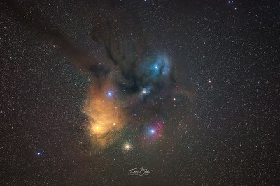 The crown jewel of our Milky Way - Rho Ophiuchi cloud complex.
