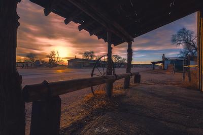 Rustic Sunrise.