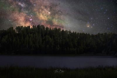 Starry Sylvan Lake.