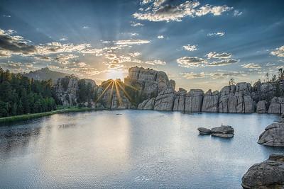 Sylvan Sunset.