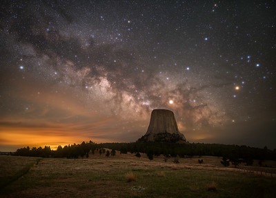 A Night At Devils Tower.