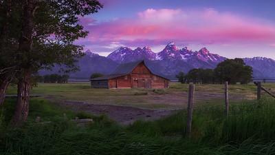 Teton Awakening [Panorama]
