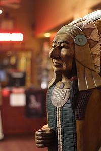 Cigar Shop Wooden Indian
