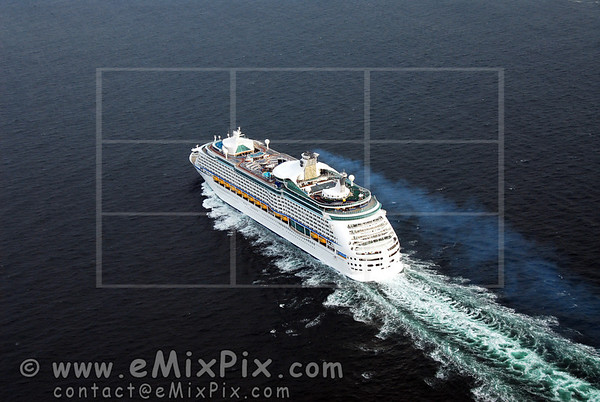 EXPLORER of the SEAS (01) - Ships aerial views