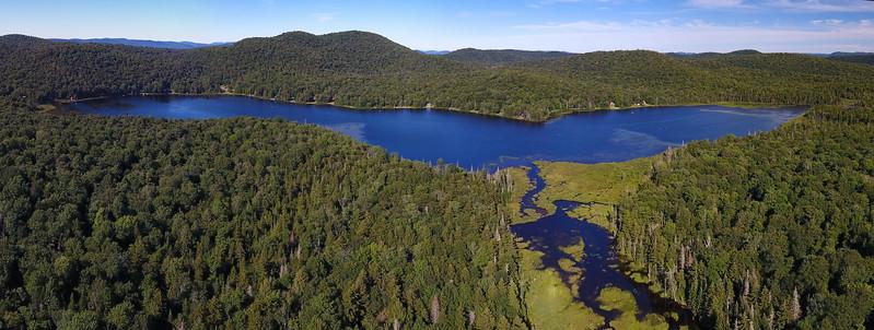 Morehouse Lake panorama