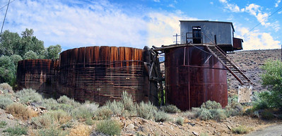 Processing Tanks - Silver City Nevada