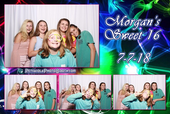 Morgan's Sweet 16th Birthday 7-7-2018