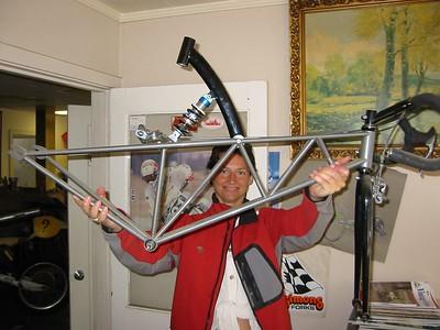 Track bike concept