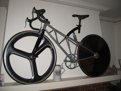 'Trigonometry' art bike