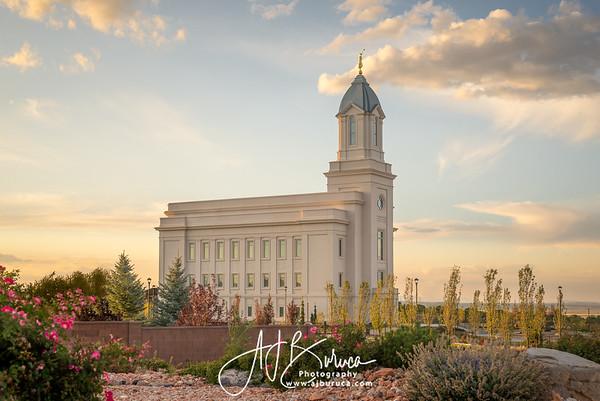 Golden Foundations Cedar City Utah Temple