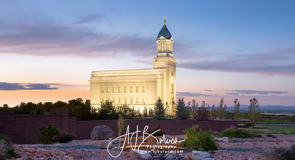 Bridgeway to Eternity Cedar City Utah Temple