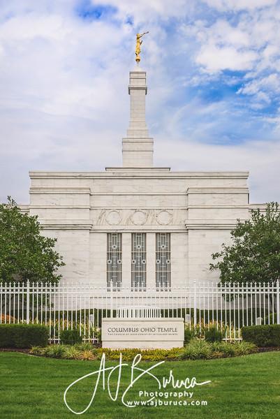 Columbus Ohio Temple Morning