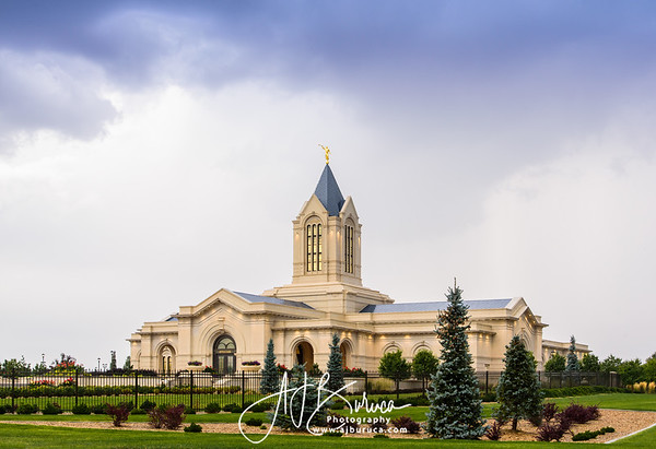 After The Storm Fort Collins Colorado Temple
