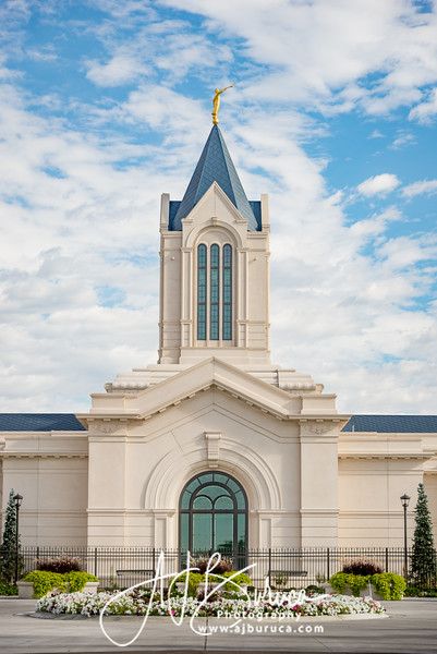 Temple Morning Fort Collins Colorado Temple