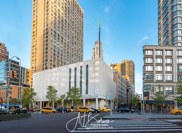 Golden Hour Manhattan New York Temple