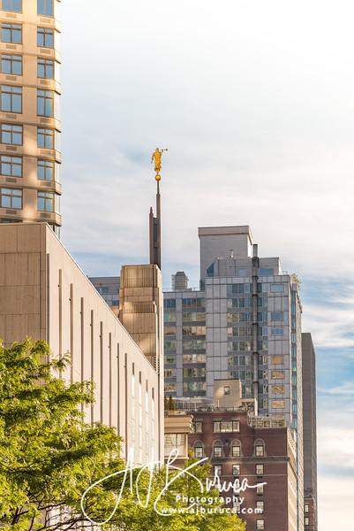 Golden Vertical Manhattan New York Temple
