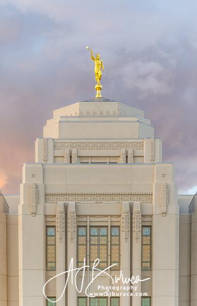 Moroni Meridian Idaho Temple