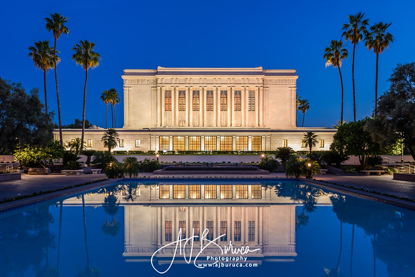 Blue Hour  Mesa Arizona Temple
