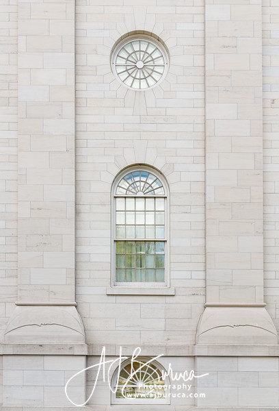 Nauvoo Illinois Temple Window Detail