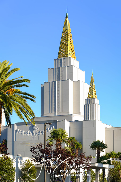 Oakland California Temple Afternoon