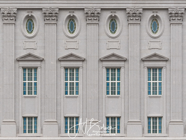 Philadelphia Temple Window Detail