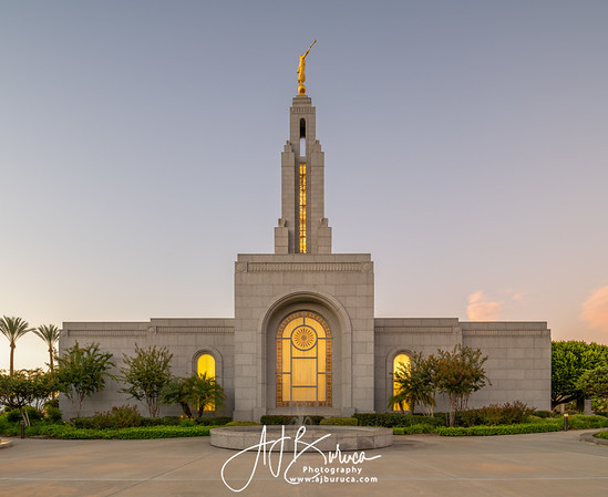 Eternal Fountain Redlands California Temple