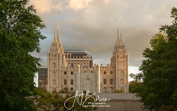 Golden Foundations Salt Lake Temple