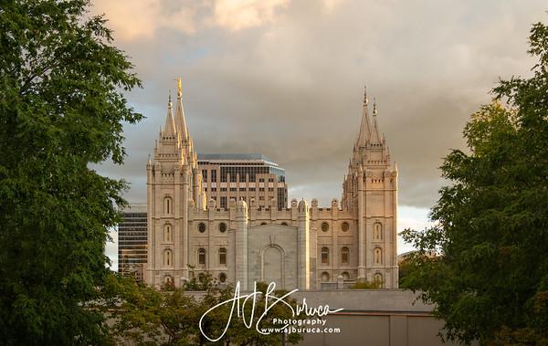 Golden Foundations Salt Lake Temple