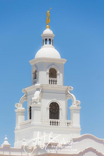 Tijuana Mexico Temple Spire