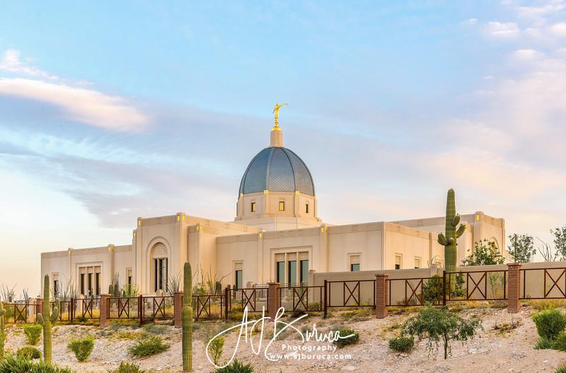 Peaceful Morning Tucson Arizona Temple