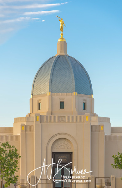 Tucson Arizona Temple Morning