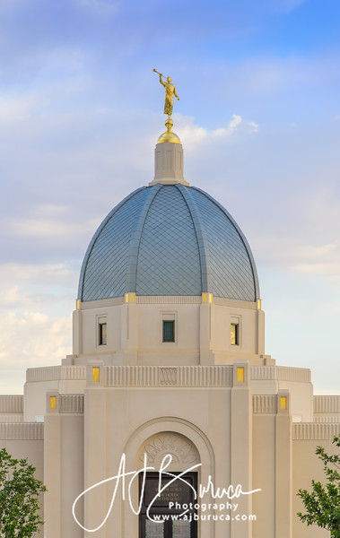 Evening Glow Tucson Arizona Temple