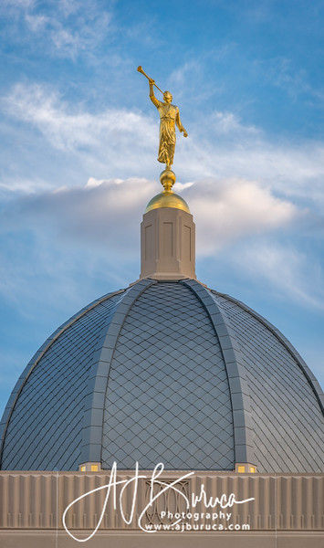 Moroni Dome Tucson Arizona Temple