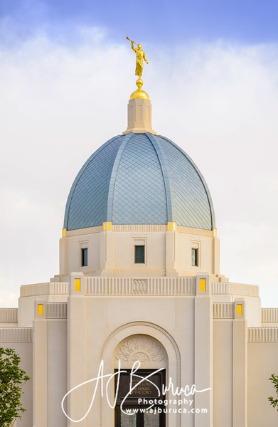Evening Tucson Arizona Temple