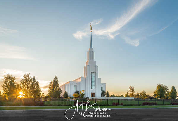 Golden Treasure Twin Falls Idaho Temple