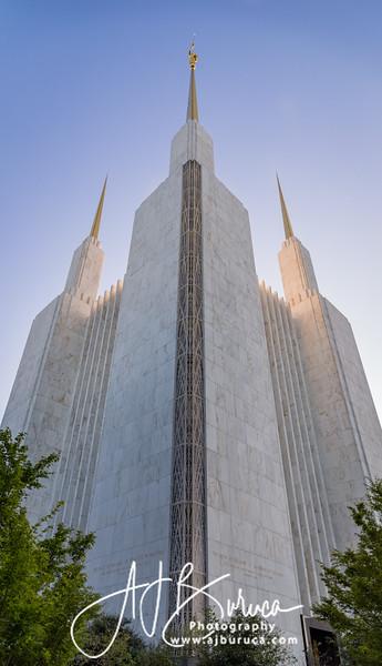 Washington D.C. Temple Spires