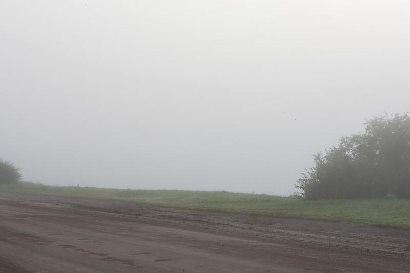 2006 August 31st fog along Revillon Road.