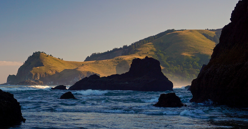 Pounding Surf and Cascade Head