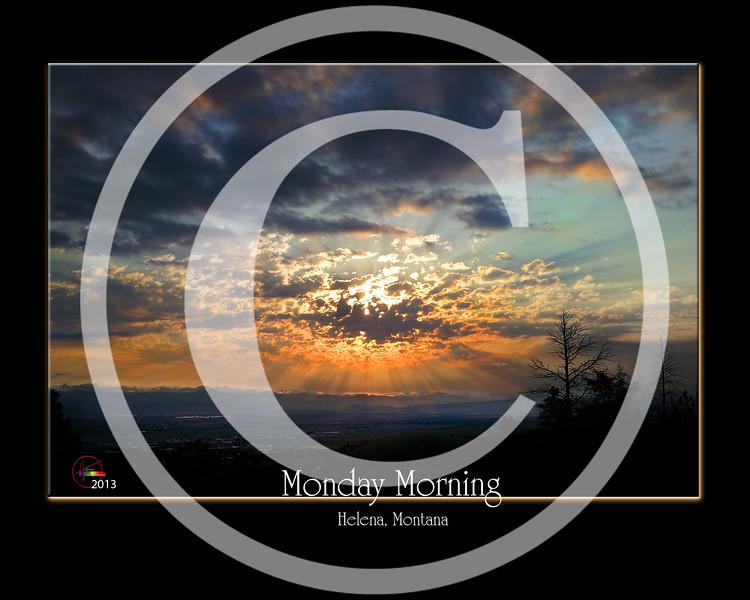 Monday morning  Helena Montana