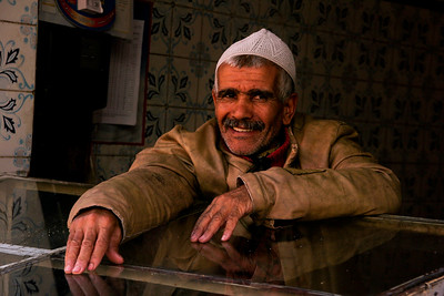 מרכש - סמטאות השוק שמסביב לגמ'ע אל-פנא