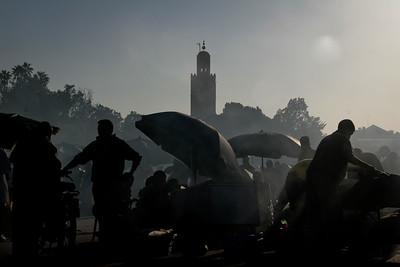 מרכש - כיכר גמ'ע אל-פנא