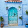 Turquoise Door #1 – Chefchaouen