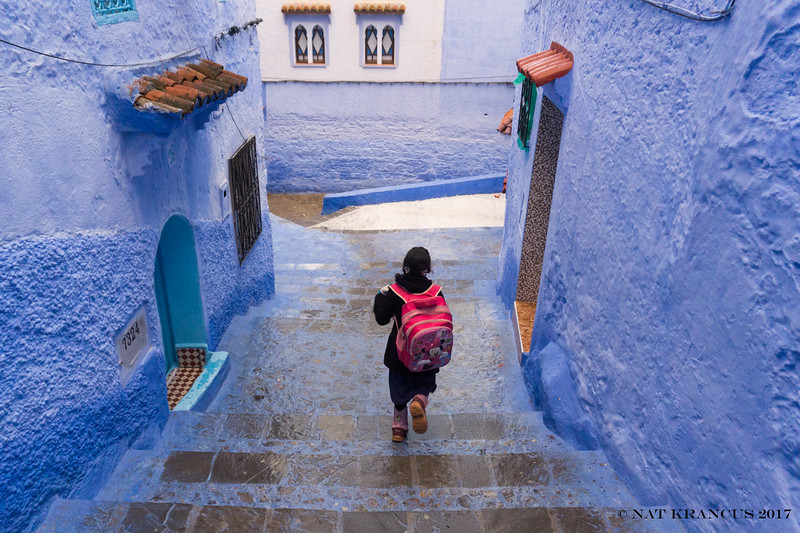 Running in Chefchaouen