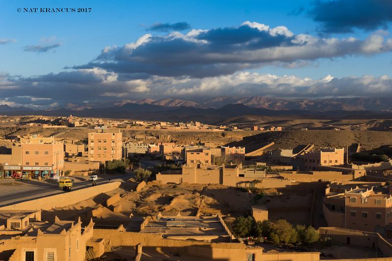 Outside Ouarzazate