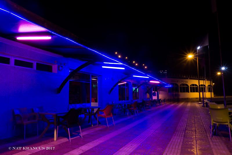 Boardwalk in Sidi Ifni