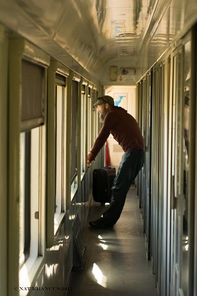 Jason on Train
